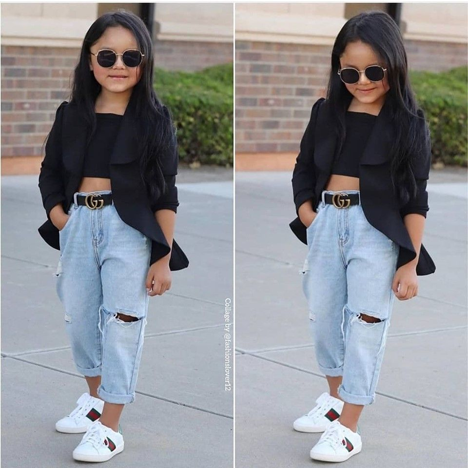 Cute kids clothing styling ideas  Trendy girls outfits, Trendy