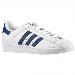 check out 901b9 e0bfe economiche Scarpe Running Uomo Adidas Originals Superstar 2 - blu marino   navy  bianche