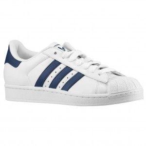 economiche Scarpe Running Uomo Adidas Originals Superstar 2 - blu marino / navy bianche