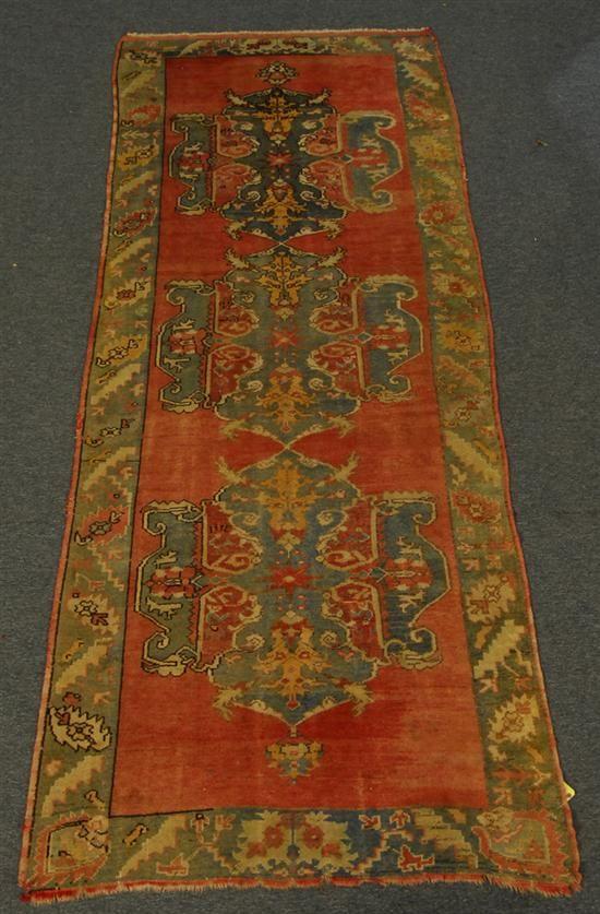 Grogan And Company Ushak Carpet Turkey Circa 1915 12 Feet 6 Inches X 4 Feet 10 Inches Turkish Carpet Carpet Rugs