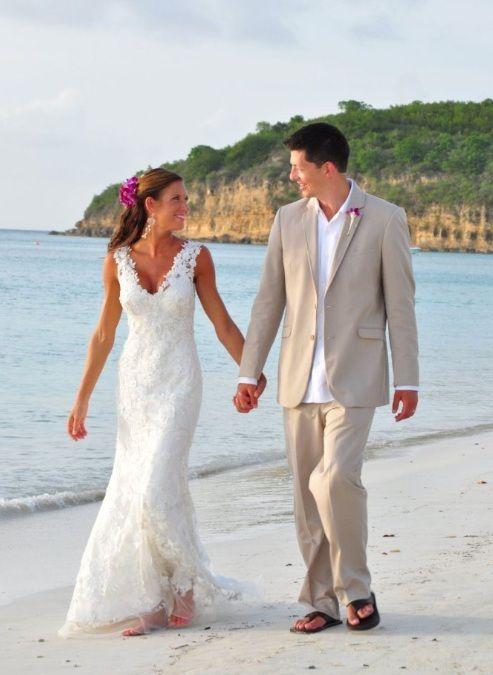 Destinationwedding At Sandals Antigua Vip Vacations Wedding Beach Www Vacationsbyvip