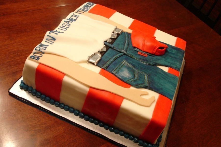 Miraculous Bruce Springsteen Album Born In The Usa With Images Cake Roll Funny Birthday Cards Online Bapapcheapnameinfo
