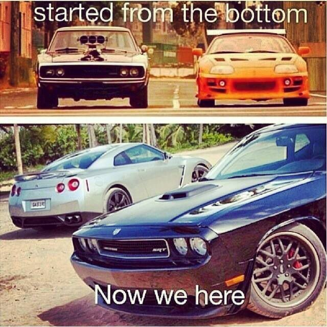 Then & Now Fast & Furious movies Fast, Furious, The