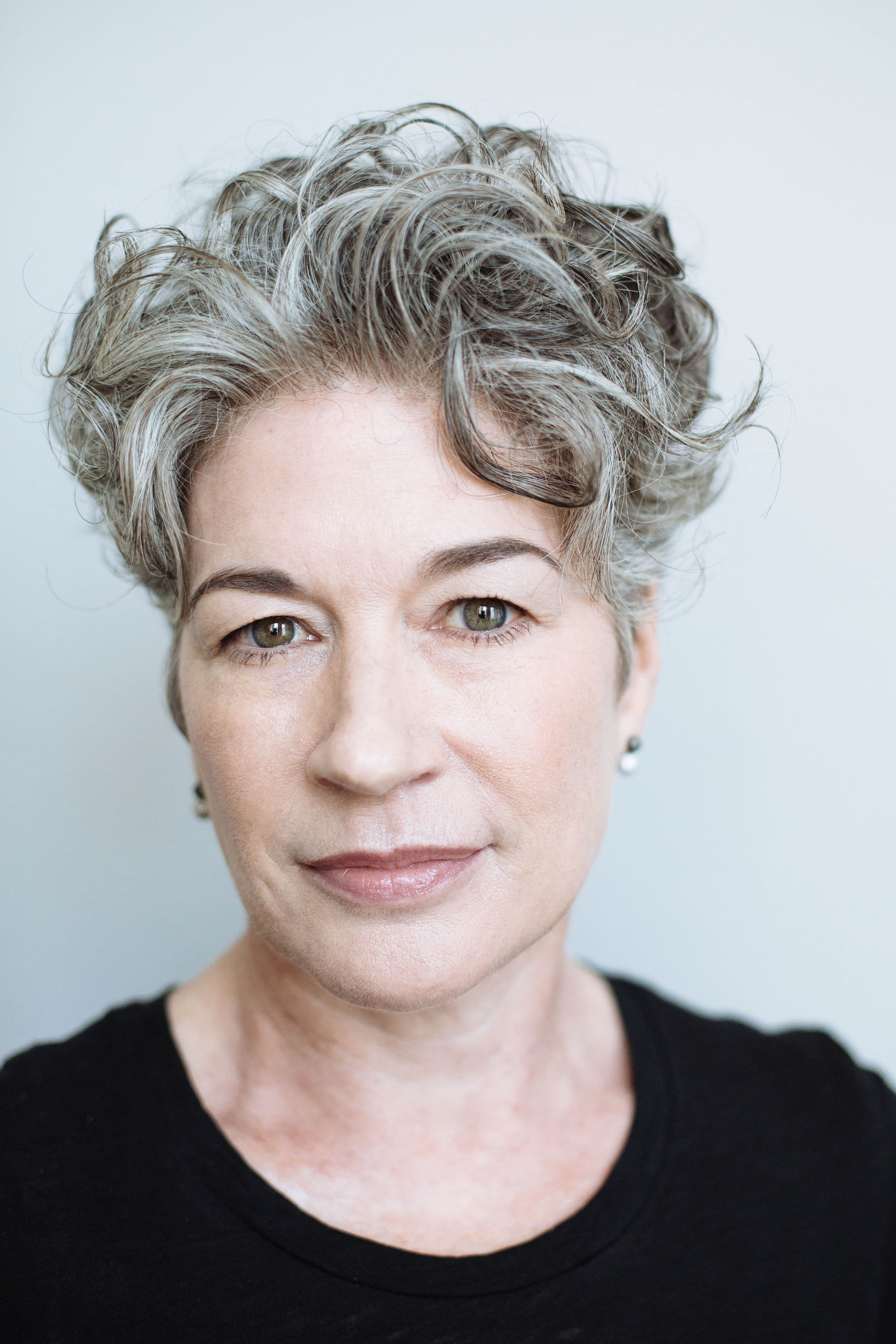 Curly Silver Hair Silver Pinterest Silver Hair Curly And