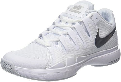 58bc18620c15 Nike Zoom Vapor 95 Tour WhiteMetallic Silver Womens Women s Tennis and  Racquet Sports Shoes Shoes -