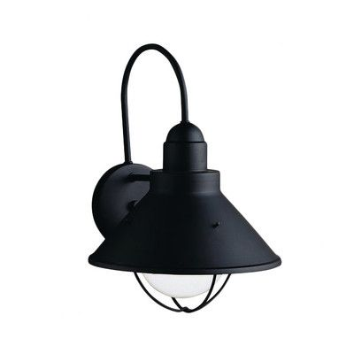 Kichler Seaside 1 Light Wall Lantern & Reviews | Wayfair