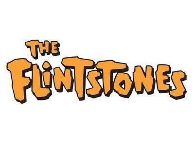 The Flintstones Cartoon Title Text Logo Flintstones Cartoon Logo Old Cartoon Network