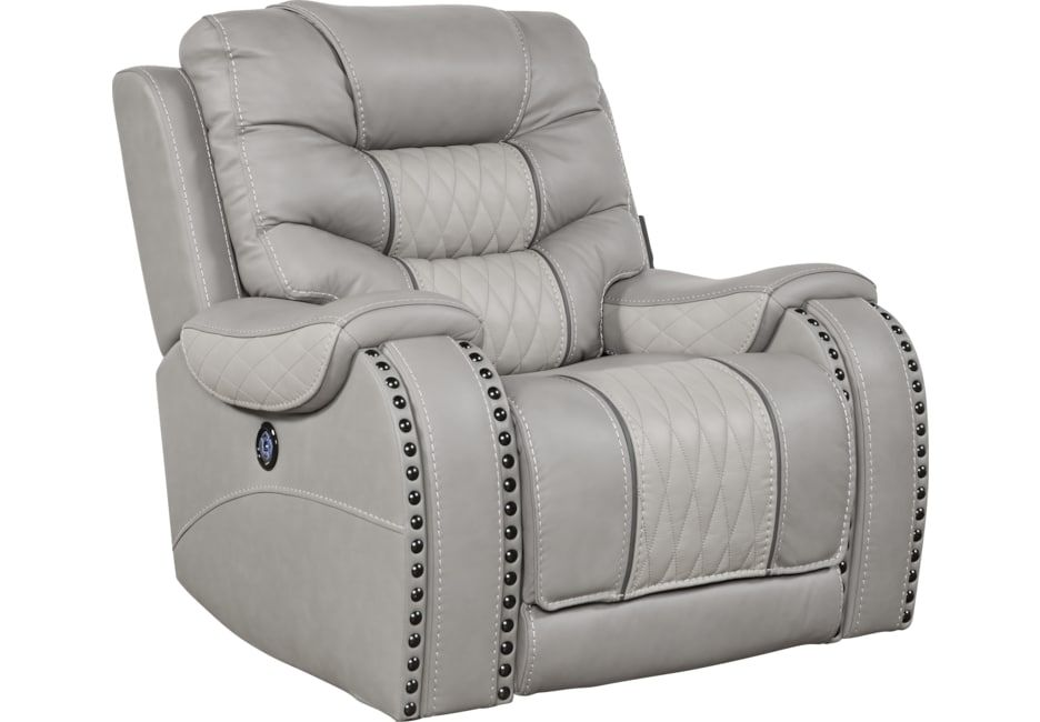 Marvelous Eric Church Highway To Home Headliner Gray Leather Dual Uwap Interior Chair Design Uwaporg