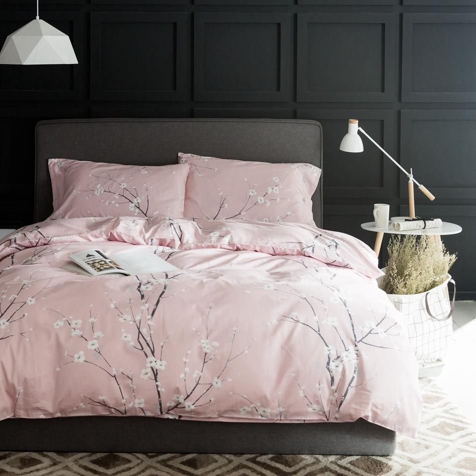 Cherry Blossom Bliss Duvet Cover Set Bedding Duvet Bedding
