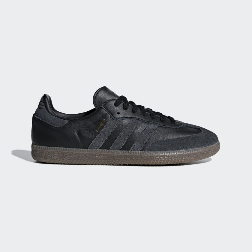 Samba OG Shoes Core Black / Carbon / Gold Metallic DB3010 ...