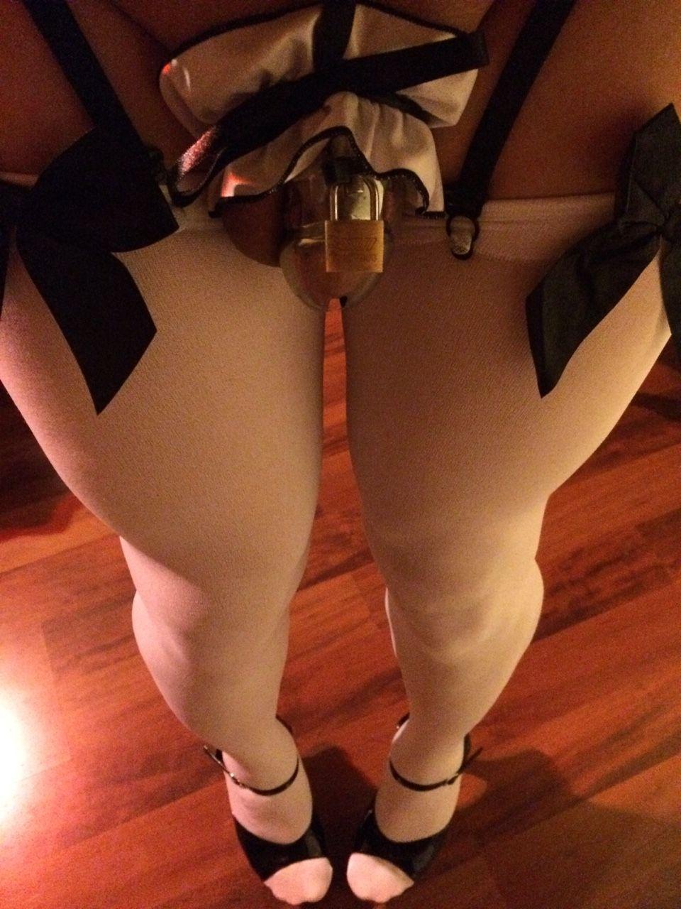 crossdresser chastity Sissy