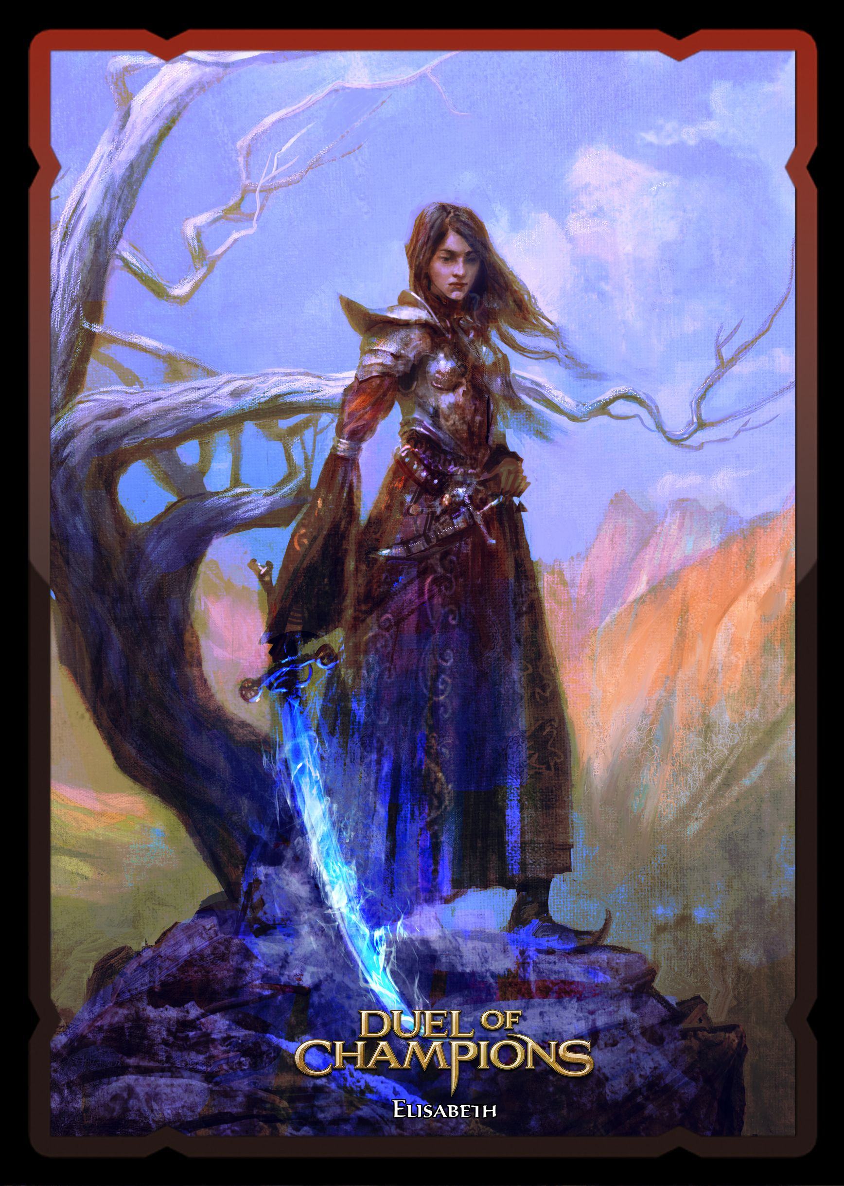 Elisabeth S Card In Duel Of Champions 1736 X 2438