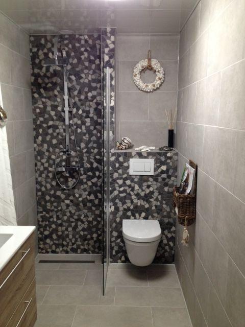 Badkamer inspiratie & ideeën 2018. Kleine badkamer betonlook ...