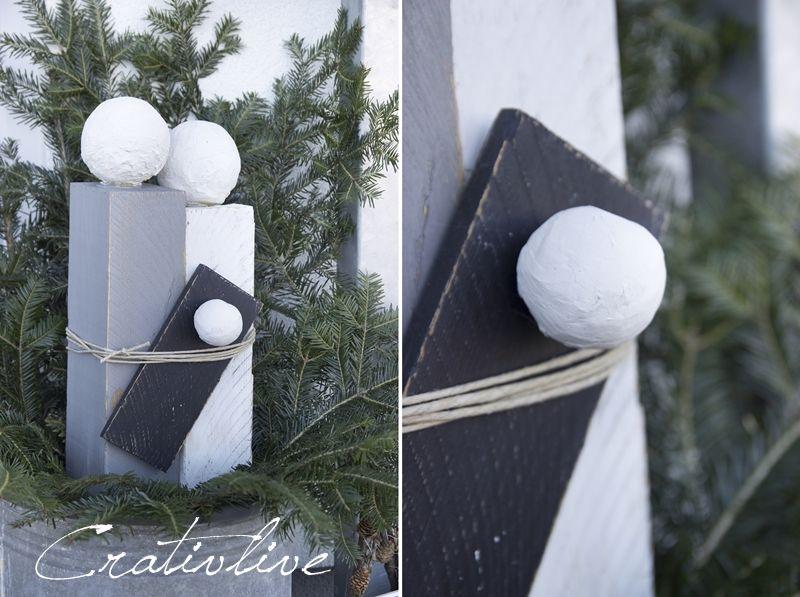 DIY Tannenbaum mit Zipfelmütze - CreativLIVE