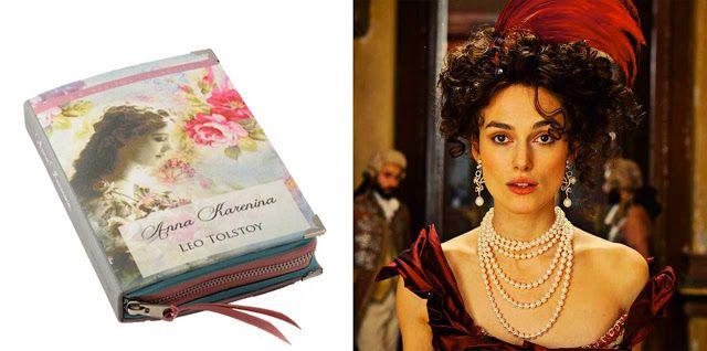 Anna Karenina Book Clutch by p.s. Besitos