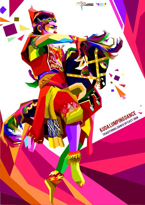 Kuda Lumping Dance From East Java Indonesia By