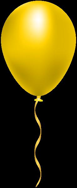 Yellow Balloon Png Clip Art Image Yellow Balloons Balloon Illustration Art Images