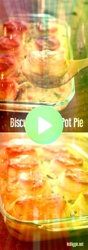 of the best comfort foods around chicken pot pie comes together in a flash when you use Grand biscuits We love this simple classicOne of the best comfort foods around chi...