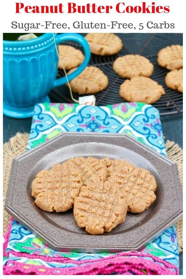 Sugar Free Peanut Butter Cookies Recipe Sugar free