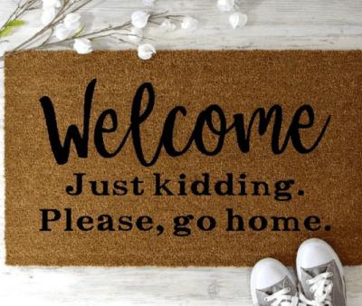 Hilarious Doormats For Your Home Funny Doormats Door Mat Custom Doormat