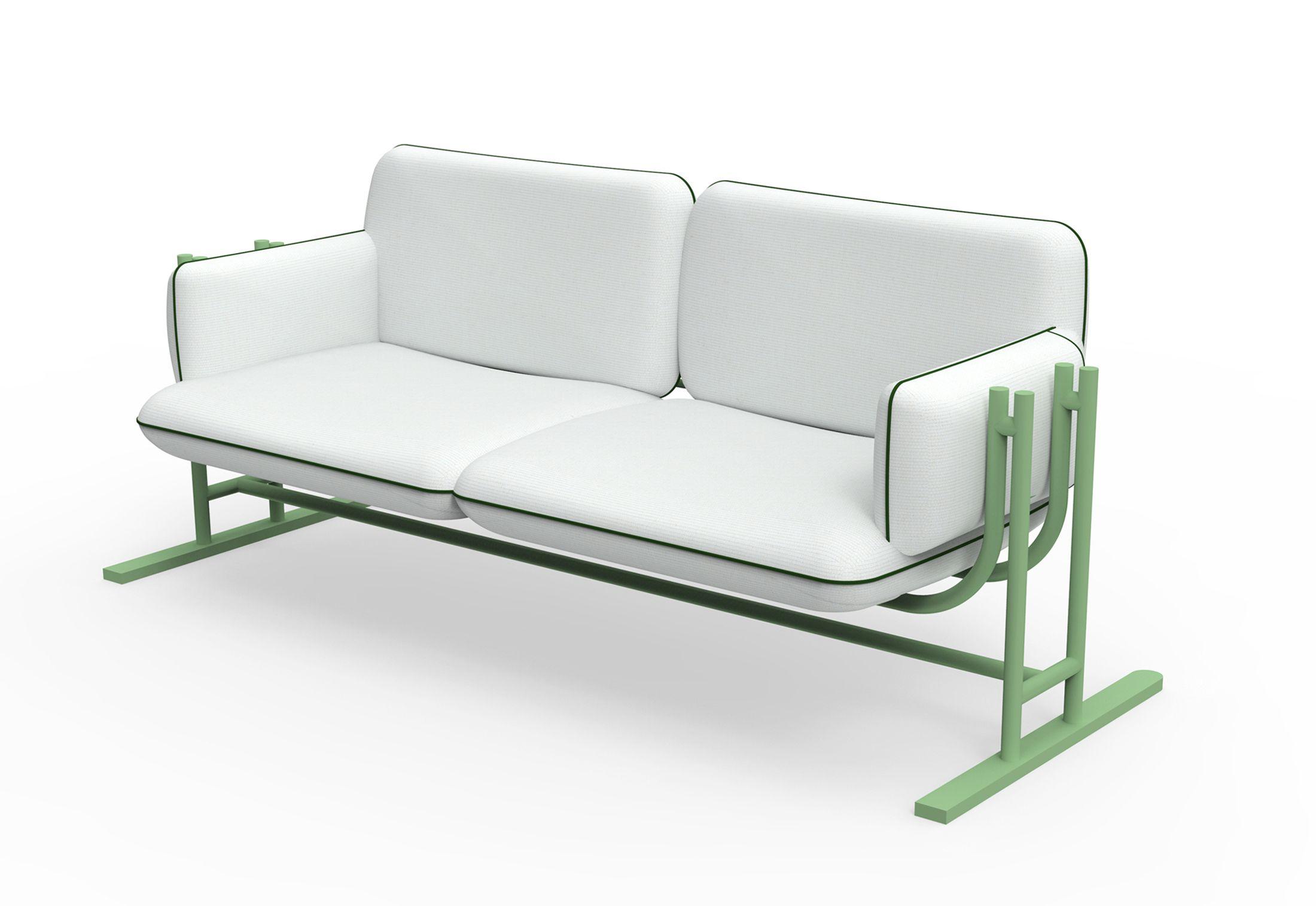 Swing Gliding Sofa By Richard Lampert