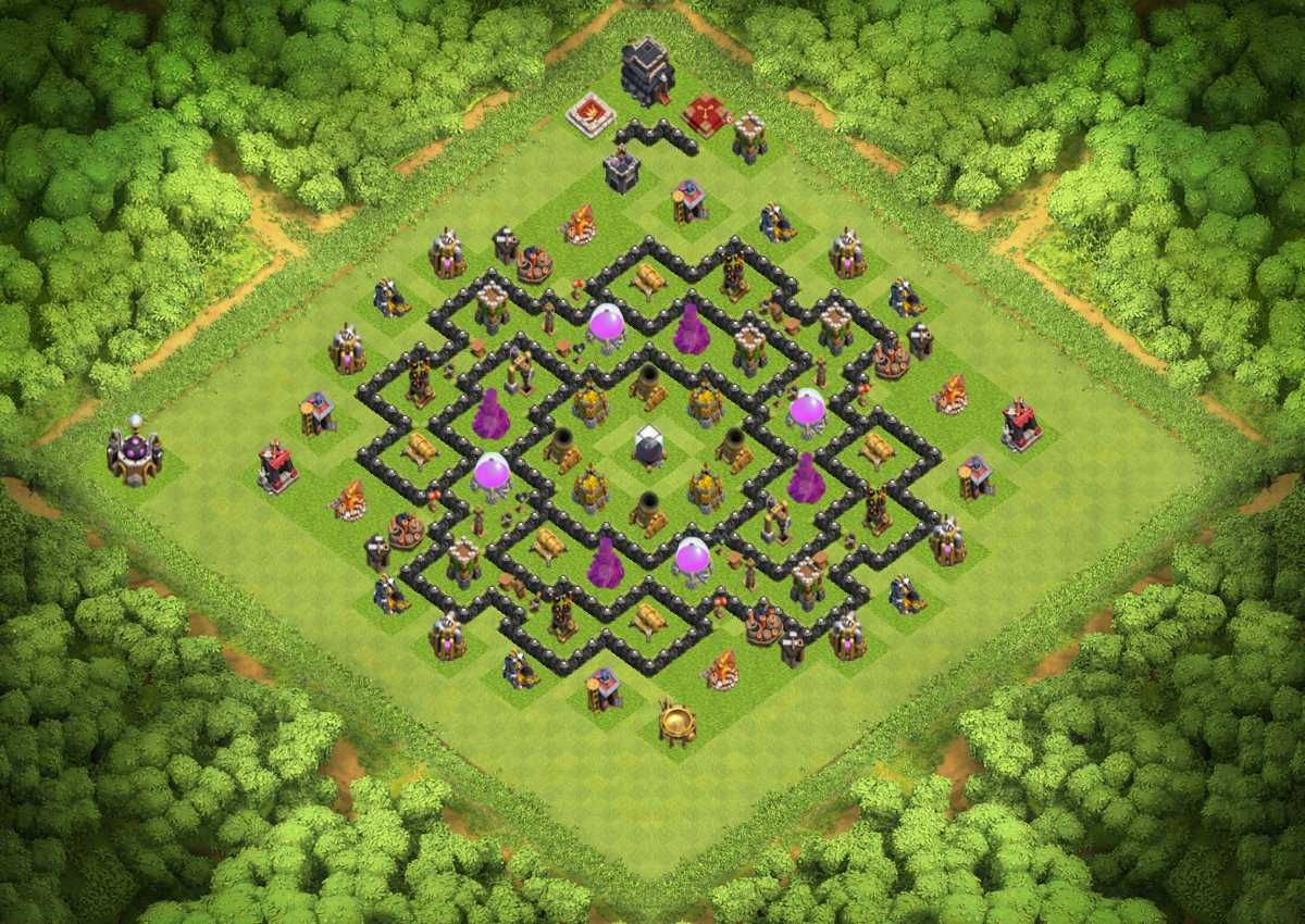 Th9 Farming Base Without Xbows 6