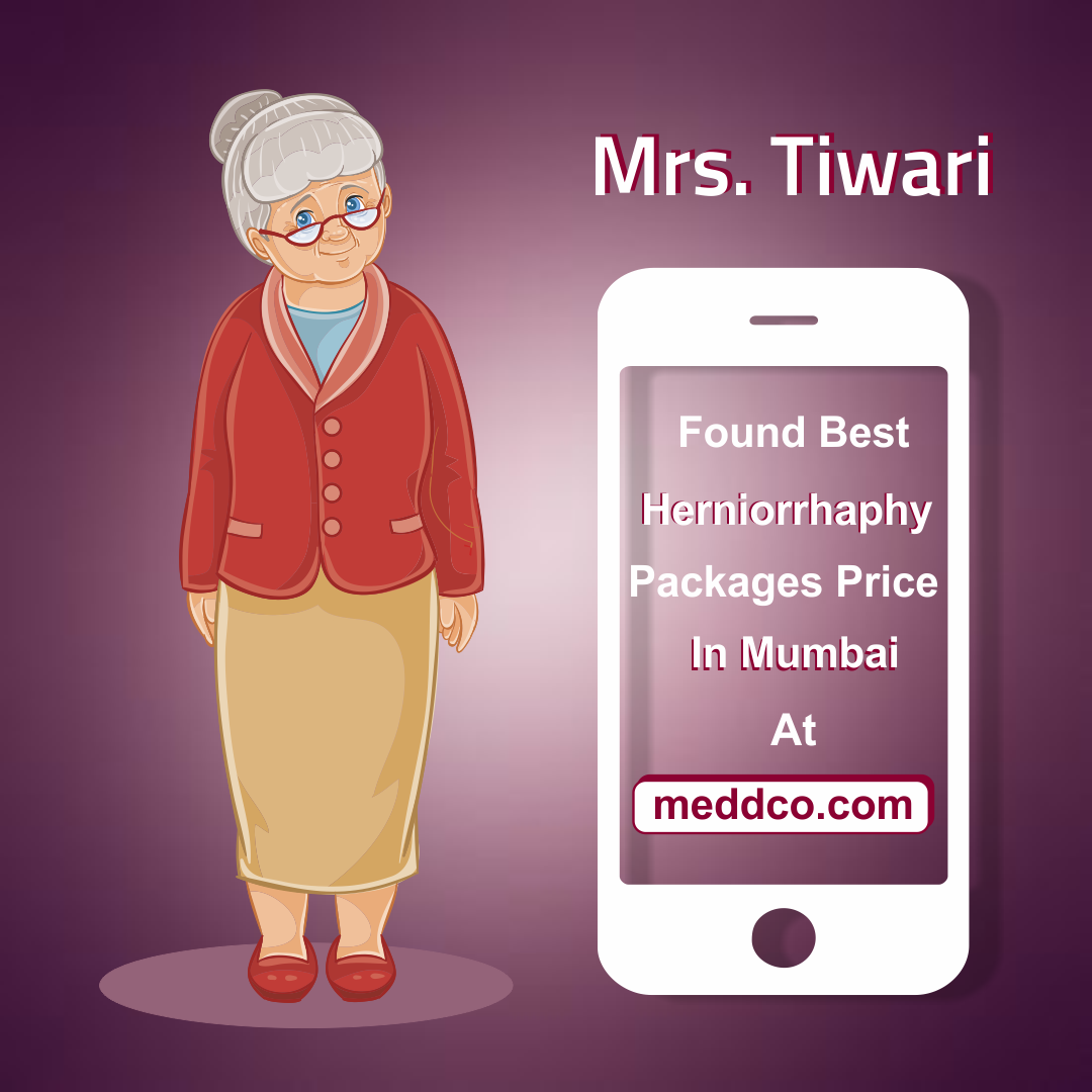 Mrs. Tiwari found the right hospital with most reasonable