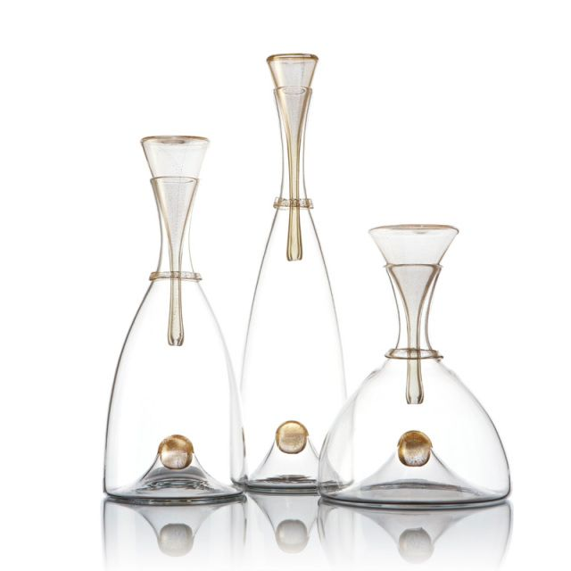 Wonderful Oro Decanters   Vetro Vero: Hand Blown Glass Design | Objects Of Desire |  Pinterest | Glass Design, Blown Glass And Decanter