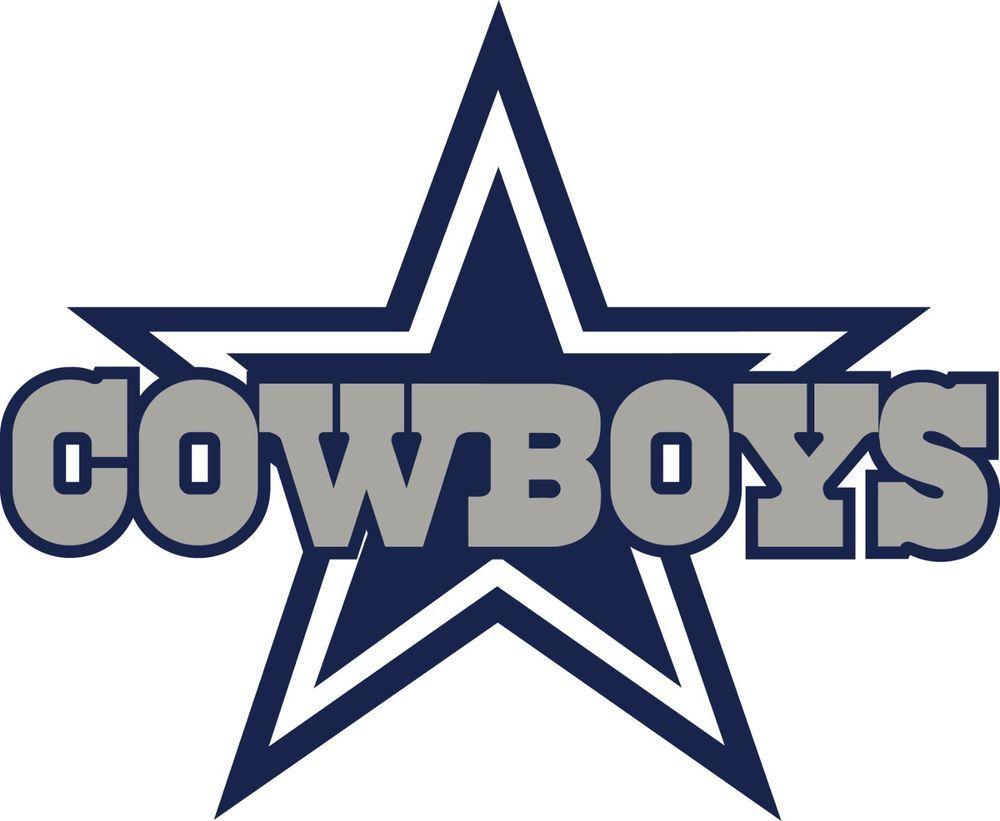 Dallas Cowboys Logo Window Wall Decal Vinyl Car Sticker Any Colors 6 ...