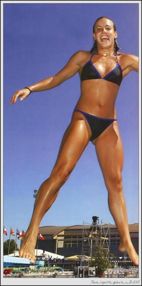 Tania Cagnotto Sexy