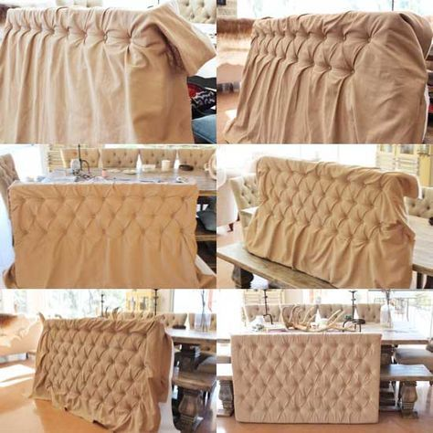 I Have Just Completed My Diy Diamond Tufted Headboard And It Looks Great Following Is