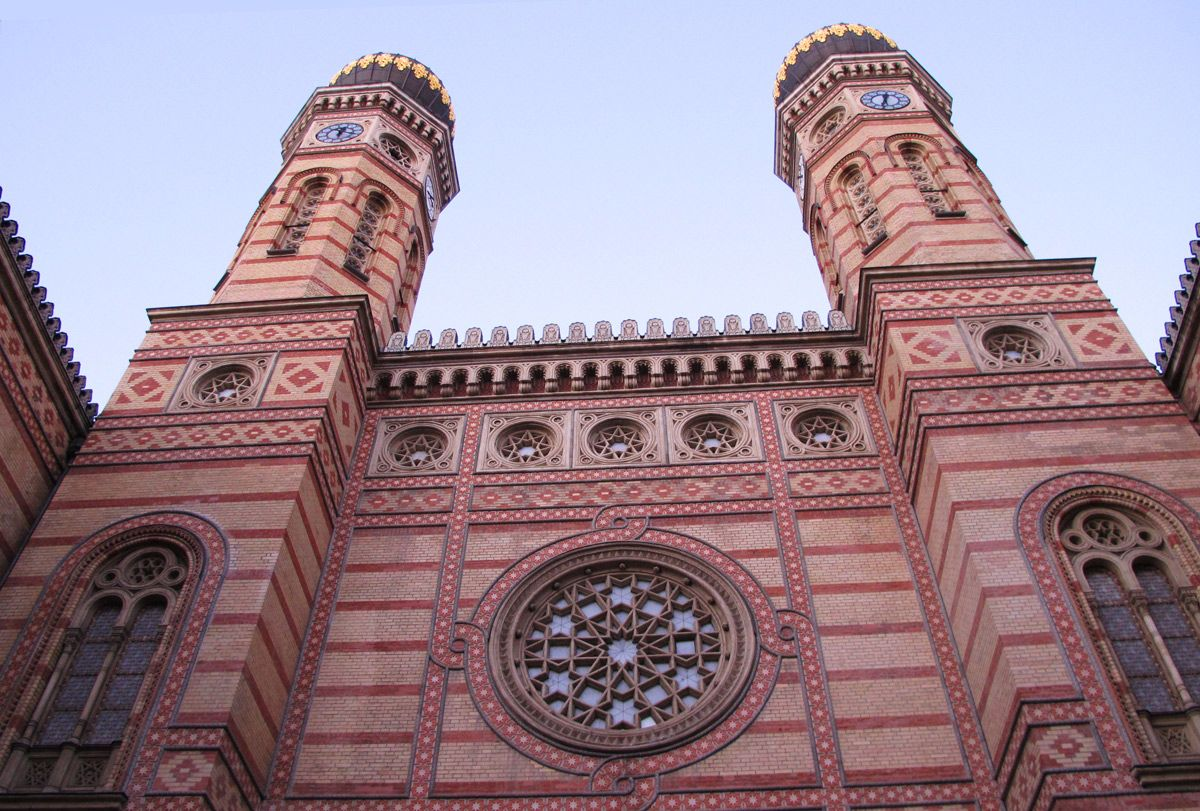 "Sinagoga grande (Nagy zsinagóga), Budapest – ""Jewish District Walk"" by TRIPTOBUDAPEST – Free Budapest Walking Tours (dicembre 2014) http://www.thatsalltrends.com/travel/free-walking-tour-unidea-low-cost-vivere-la-citta/"