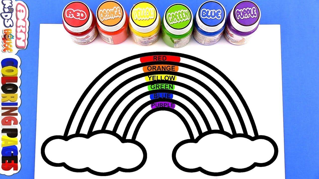 Rainbow Colors Warna Pelangi Cara Menggambar Pelangi Warna Untuk A Cara Menggambar Pelangi Gambar