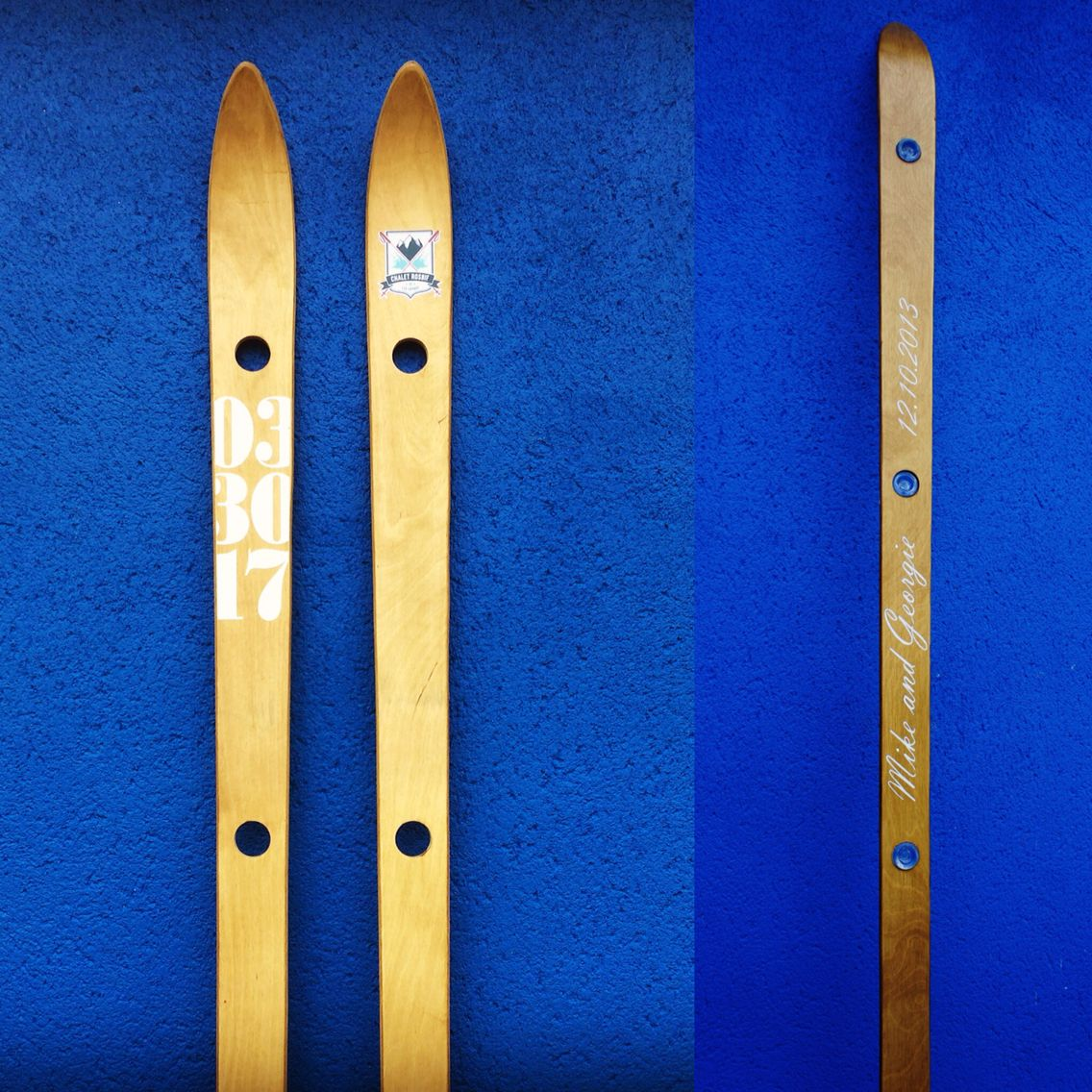 Decorate your shotski however you like with your special