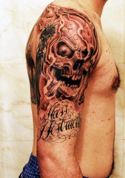 Amazing tyga sleeve picture tattoo designs best tattoo for Tyga arm tattoos