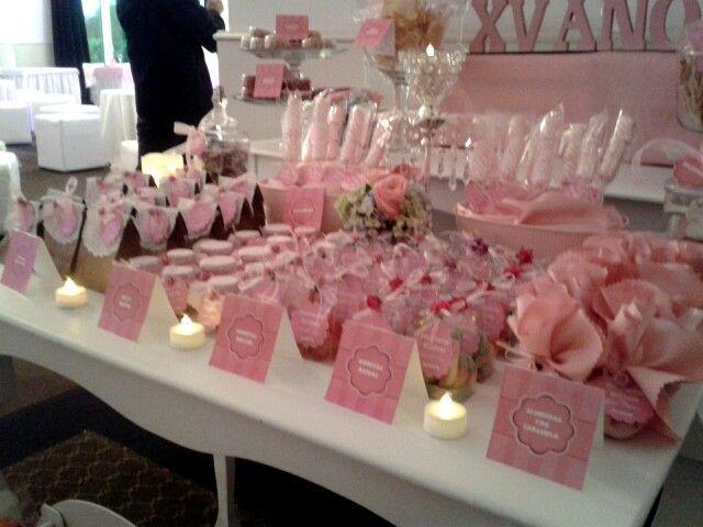 #mesadedulces #candybar #candybuffet #pink #rosa #vintage #puebla #shabbychic #dulceros  pickysfactory@gmail.com