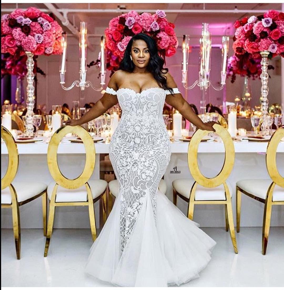 Beautiful Mermaid Wedding Gowns: ! Beautiful Bride @makiniregaldesigns…