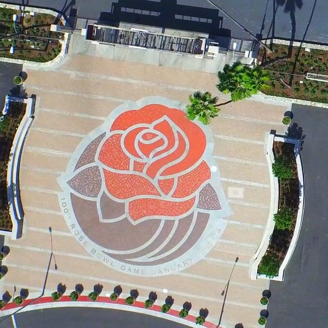 Things We Find Around The Rose Bowl Dji Inspire1 Aerialvideo