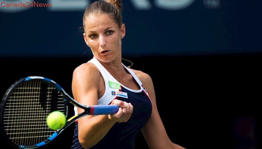 Top-seeded Pliskova advances to quarters at Rogers Cup