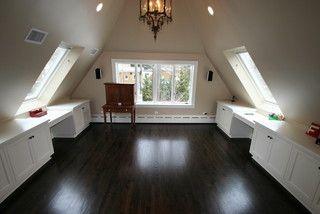 Evanston Remodel Attic Renovation Attic Design Attic Flooring