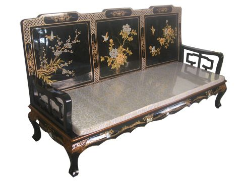 Antique chinese laquerware sofa funiture pinterest for China sofa design