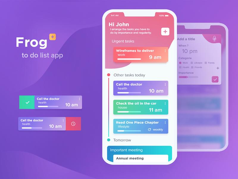 to do list app mobile design pinterest