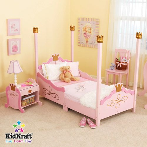 Kidkraft Princess Toddler Bed Walmart Com Girls Bedroom Sets Princess Toddler Bed Princess Bedroom Set