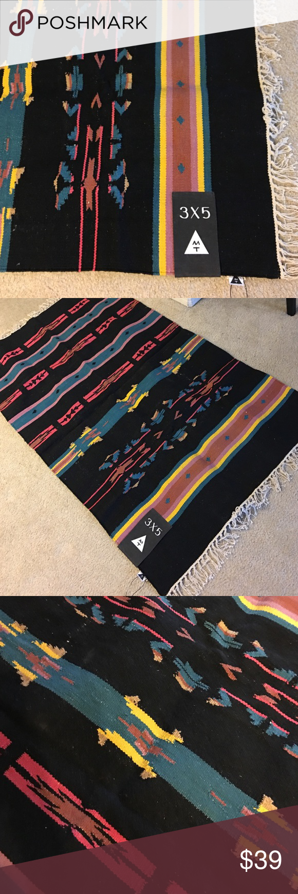 Aztec Rug No Trades New with tags attached. Rug is 3 x 5 feet. Brand Magical Thinking from UO Urban Outfitters Other