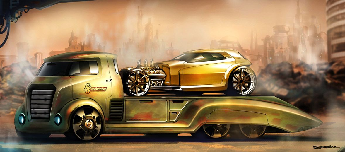 Concept Cars And Trucks By Sean Smith