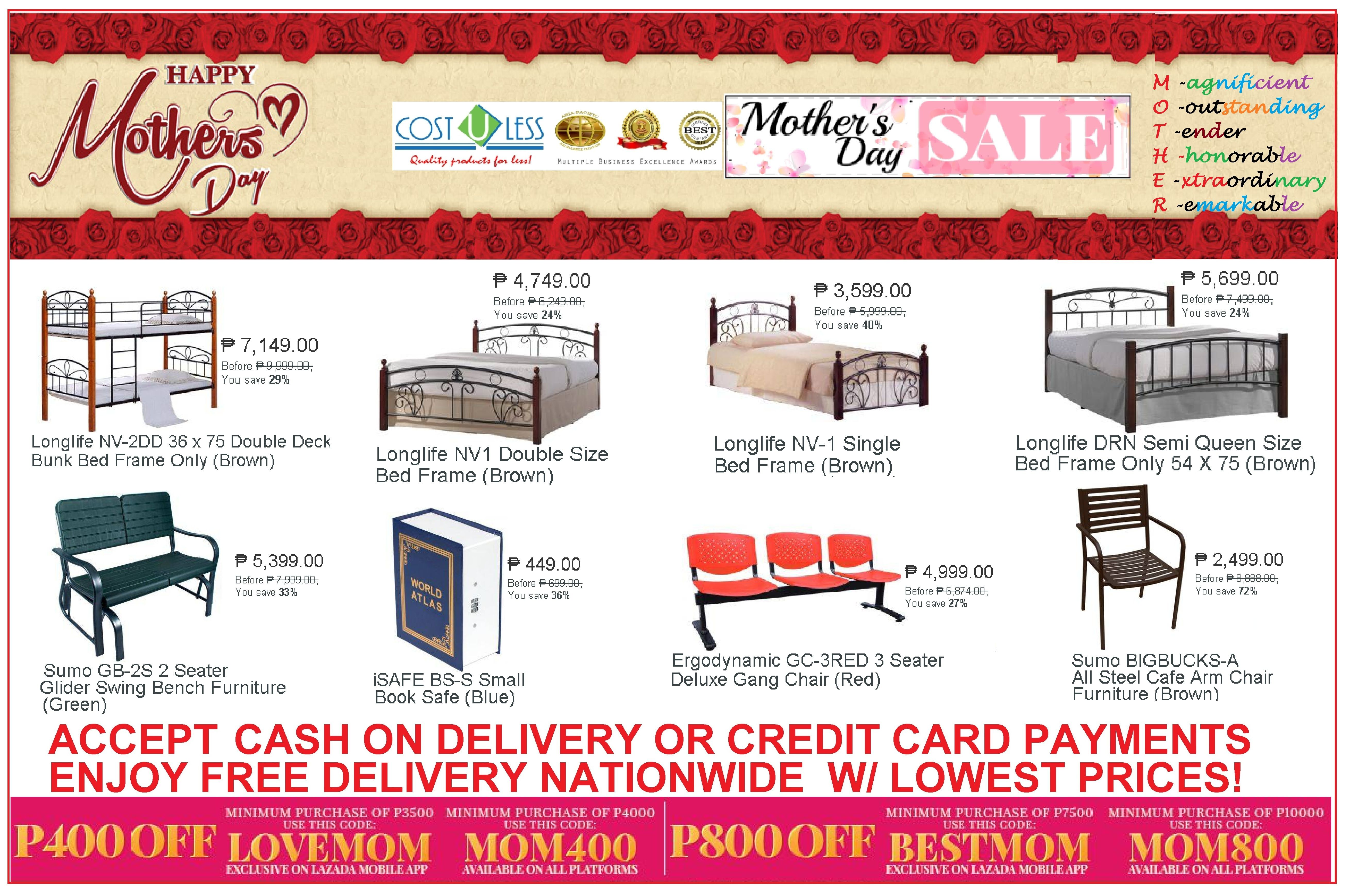 Astonishing Mothers Day Sale Lazada Shop Online Home Furniture Treat Creativecarmelina Interior Chair Design Creativecarmelinacom