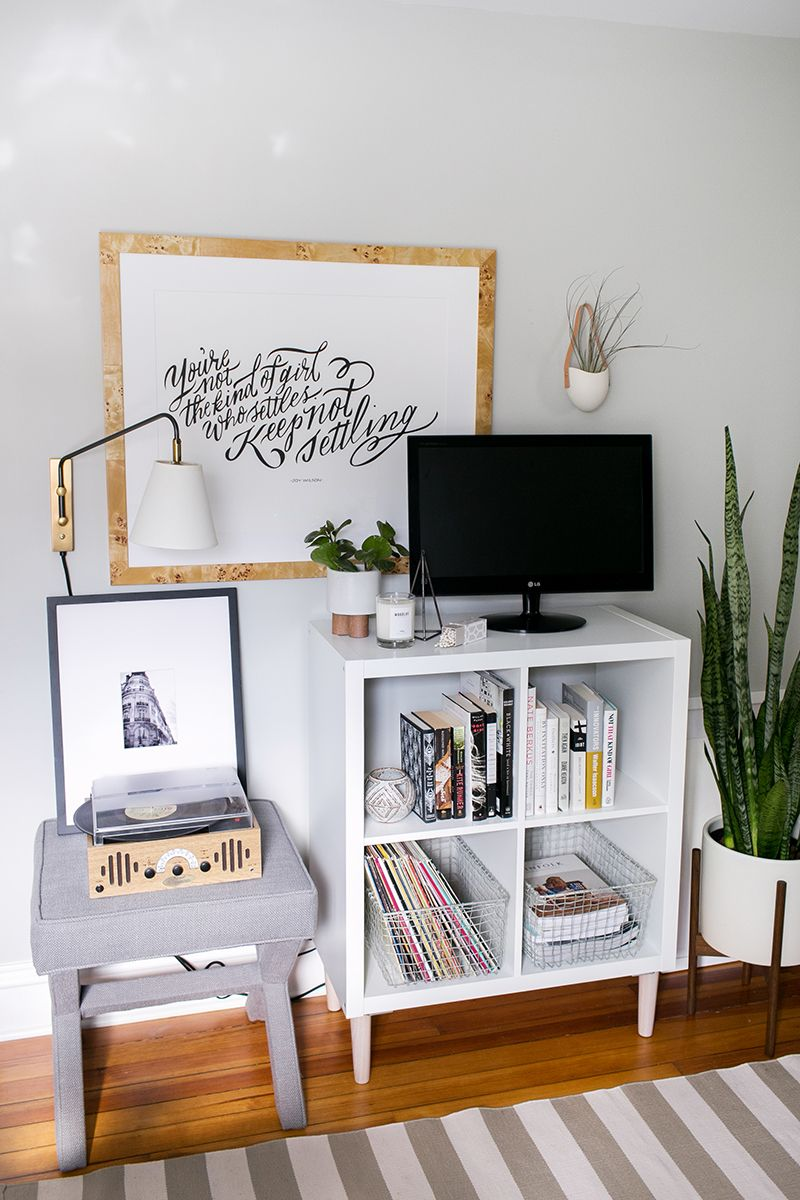 3 ways to style and use ikea 39 s kallax expedit shelf