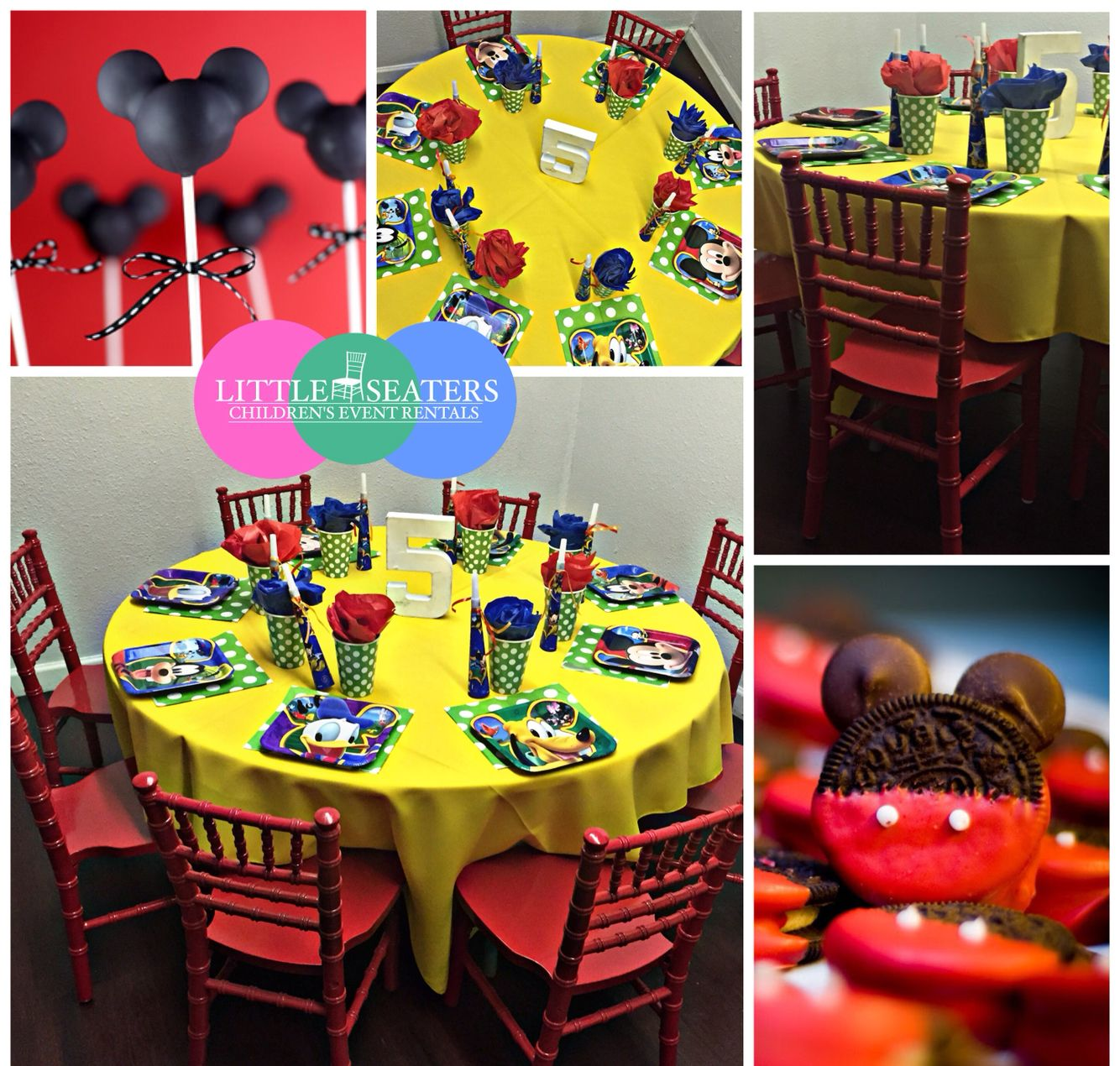 Mickey \u0026 Friends Theme Party. . Rental items includes ...