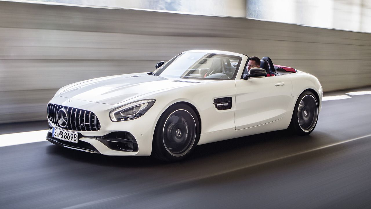 2018 Mercedes Amg Gt Roadster Mercedes Convertible Sports Car