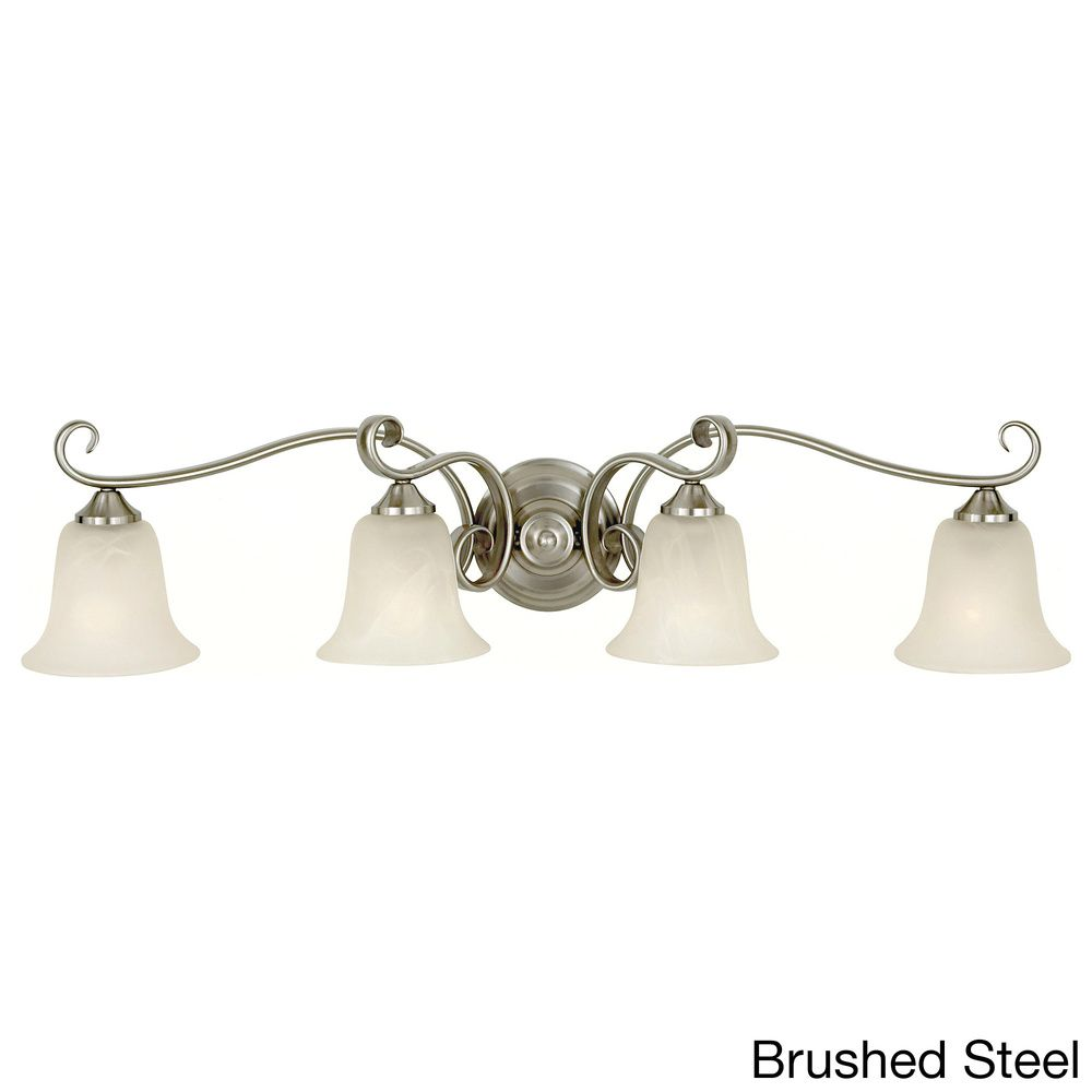 4 Light Indoor Vanity Fixture   Overstock.com Shopping   Top Rated Sconces U0026
